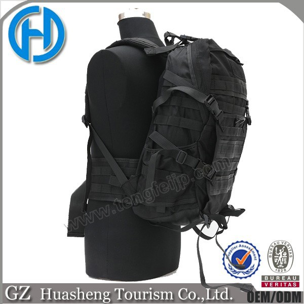 Best selling army hunting travel camping rucksack black