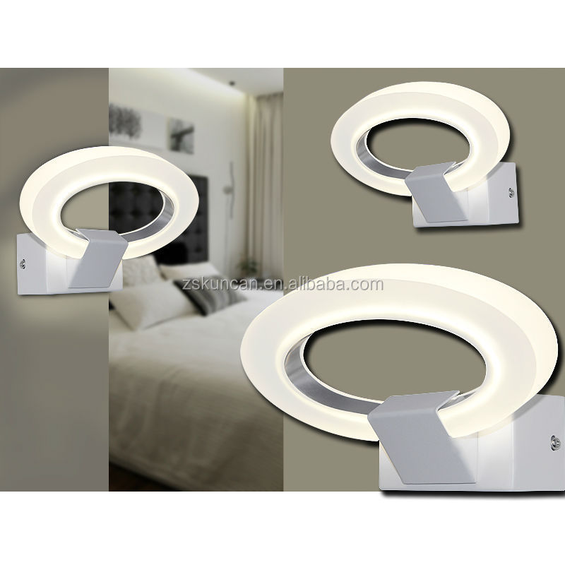 Decorative indoor wall lamps for hotel projects