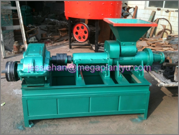 Sawdust press charcoal briquette and making machine