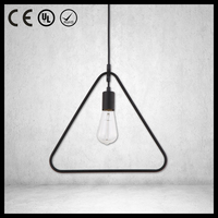 Lights and lightings square triangle pendant light cheap with CE certificate