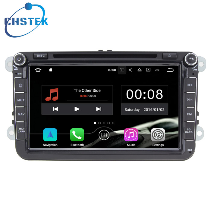 2 Din 8 Inch Car DVD Stereo Player For VW/Volkswagen/Passat/POLO/GOLF/Skoda/Seat With 3G USB GPS BT FM RDS Free Maps