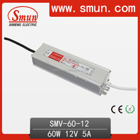 60W 12 Volt Power Supply Waterproof LED Power Supply