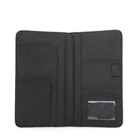 checkbook cover PU leathercheckbook holder