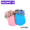 Cute bowknot and fake fur dog coats wholesale china manufacturers