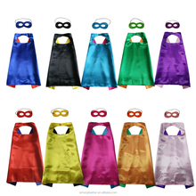 Children's cartoon cloak Double fiber reversible style Halloween cosplay superhero cape