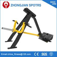 High Quality ZJFitness Plate load gym fitness equipment Rowing