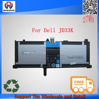 JD33K 7.4V 27W laptop battery for Dell XPS 10 Series cheap tablet pc with long battery life