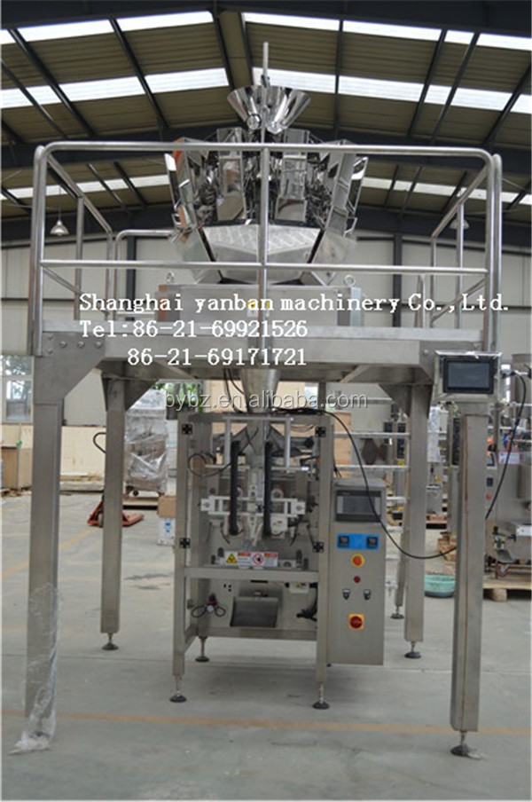10 heads weigher automatic sea salt packing machine