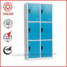 wholesale color 6 doors metal school lockers: