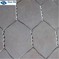 Made in Guangzhou galvanized gabion basket china supplier Hexagonal Gabion Mesh