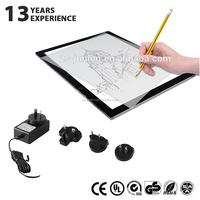 acrylic frameless protable led drawing tracing copy tablet