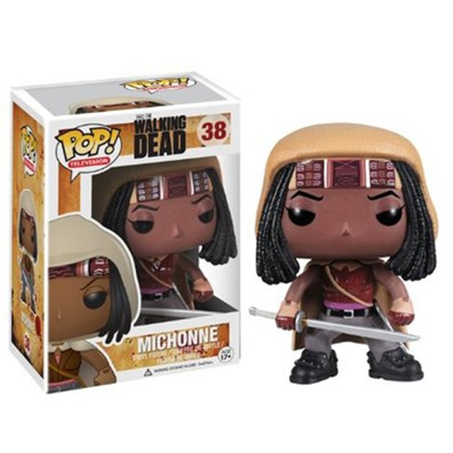 Factory Direct FUNKO POP anime carton toy action PVC Figure The Walking Dead Funko pop packing box design