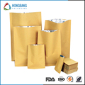 FDA kraft paper dry fruit bag with window