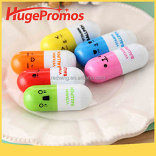 Capsule Shape Cartoon Stretchable Pills Pen for Promotion