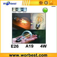 newly 2016 year CE RoHS certification frosted 8w led filament bulb