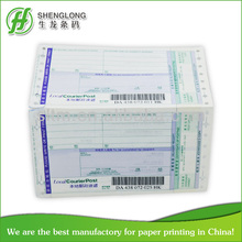 China print factory Turkey PTT ems airway bill printing paper printing Turkey PTT ems airway bill printing