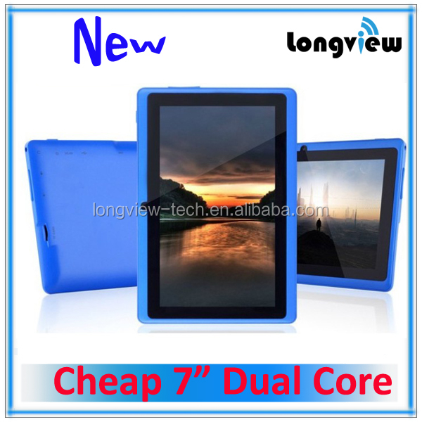 7inch mid tablet pc android 4.2 Q88 tablette android dual core 2 cameras 512MB/4G ACTION CPU
