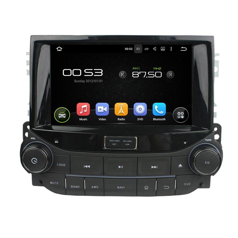 support DAB+ and WAZE map android 5.1.1 car dvd player for Chevrolet Malibu