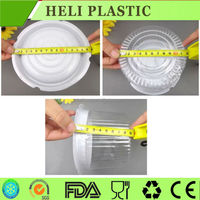 takeaway wedding cake container round clear dome cover