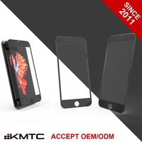 "KMTC 3D Round-edge Impact Resistance Mobile Phone Screen Protector Plastic for iphone 6 plus 5.5"" BL"