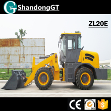 GT ZL20E Mini Tractor Backhoe Loader for sale