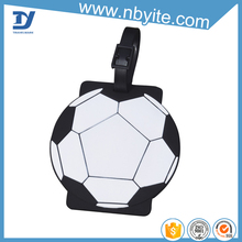 travel accessories soccer designed luggage tag, small gift items, latest gift items