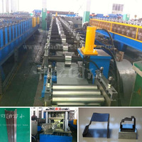 steel door panel cold bending machine