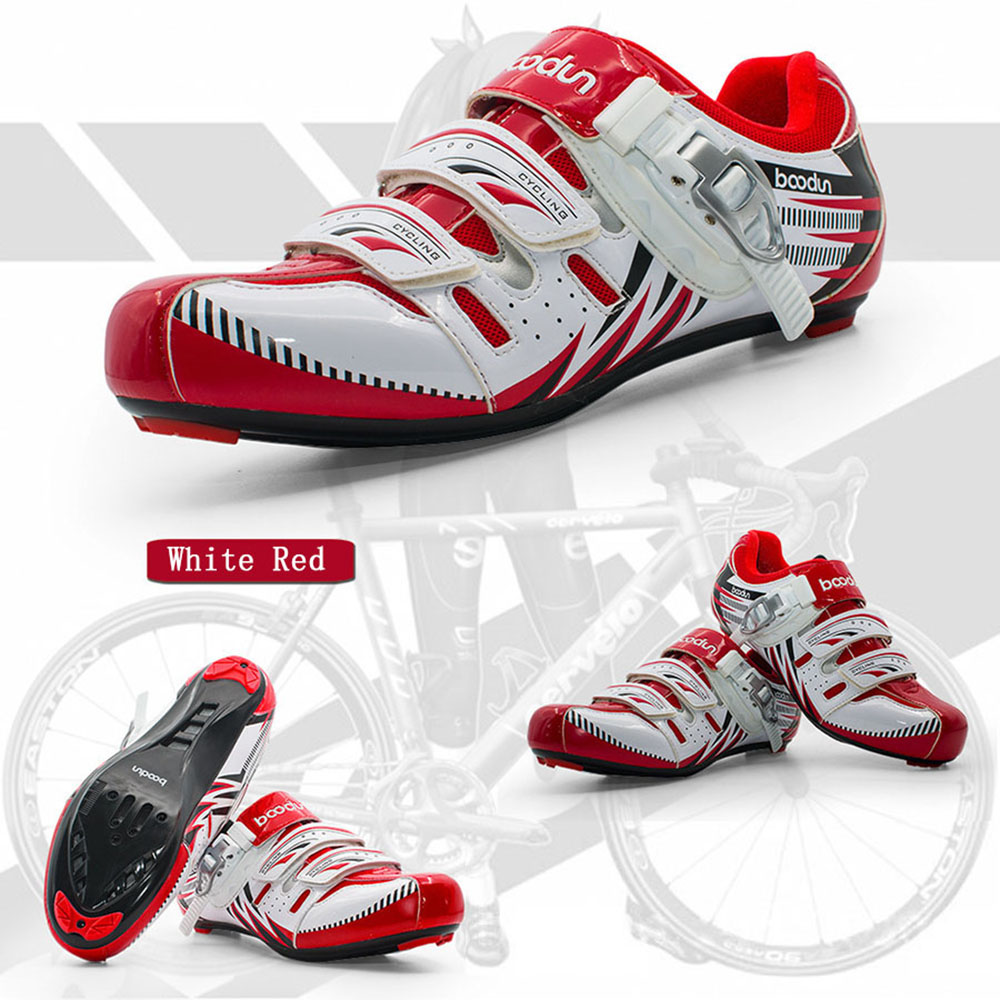 New mountain bike shoes men 's self - locking shoes autumn and cycling shoes