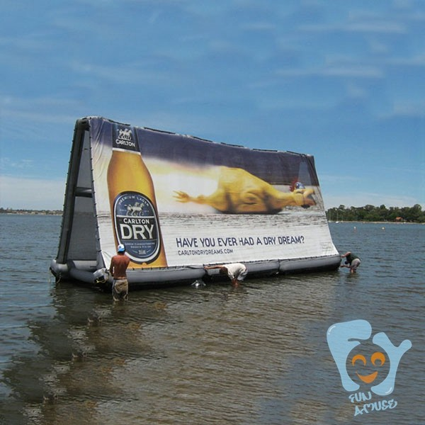 new arrivel inflatable water billboard for sale