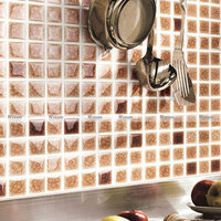 Ice Cracked Ceramic Mosaics Mediterranean Tiles