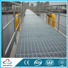 walkway mesh steel grating price/steel material steel grating floor