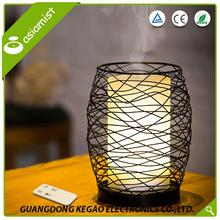 Factory supplies romantic RGB light fragrance diffuser wooden sticks