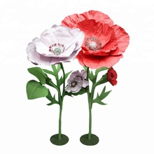 High quality environmentally friendly artificial poppy flowers