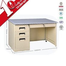 Multiple functions white melamine office desk provided luoyang by our own factory