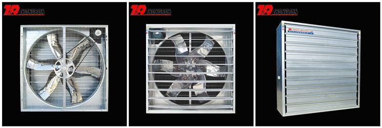 54'' Centrifugal exhaust fan