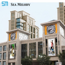 2-30 feet diameter waterproof clock mechanism tower clock wall clocks with bell system