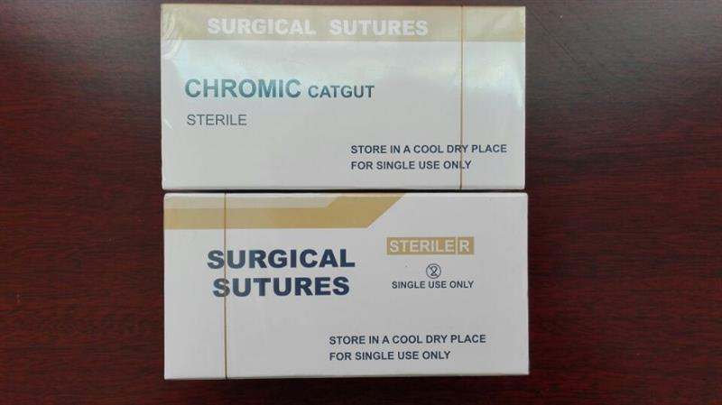 chromic surgical gut suture good knot security,linear stapler ethicon suture with low price