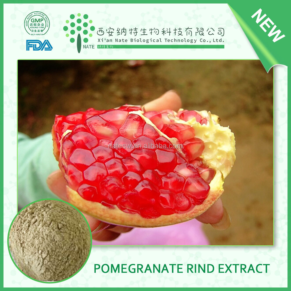 Pomegranate rind extract powder,Pomegranate peel extract,Pomegranate bark extract Ellagic Acid 70% powder HPLC manufactures