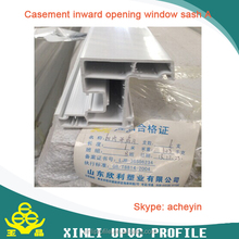 Plastic Profiles Type white upvc profile glazing beads window and door factory