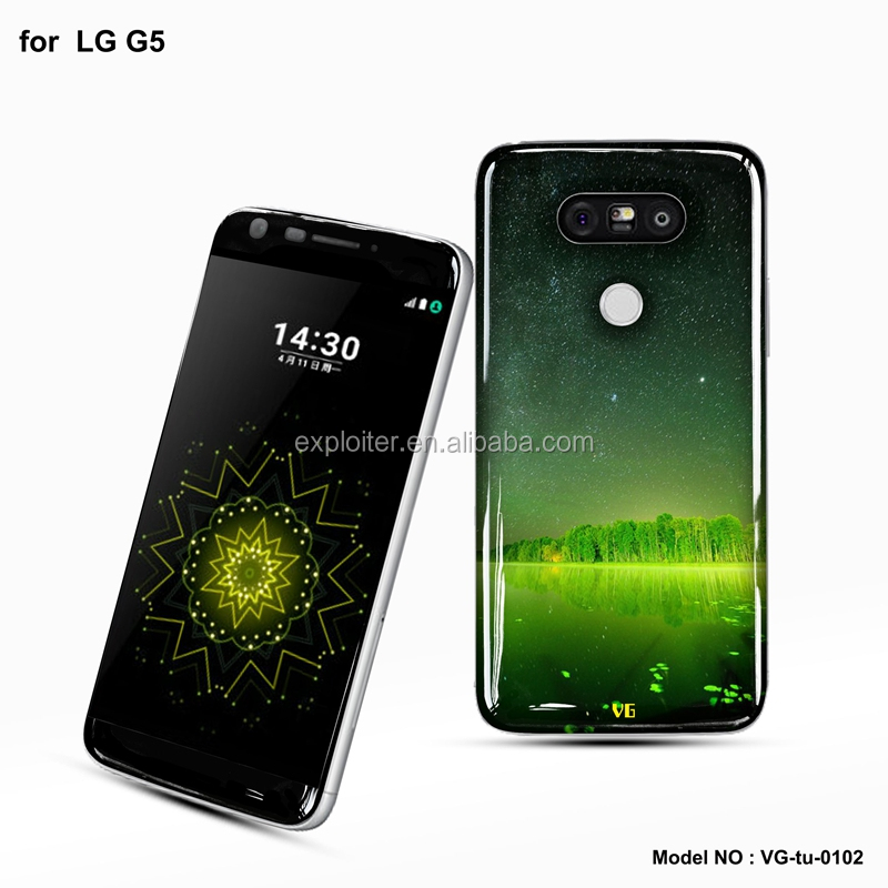 Wholesale ultra-thin gel resin 5.3 inch mobile phone case for LG G5 case