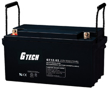 Gtech 12v gel ups 200ah/65AH High quality gel car battery