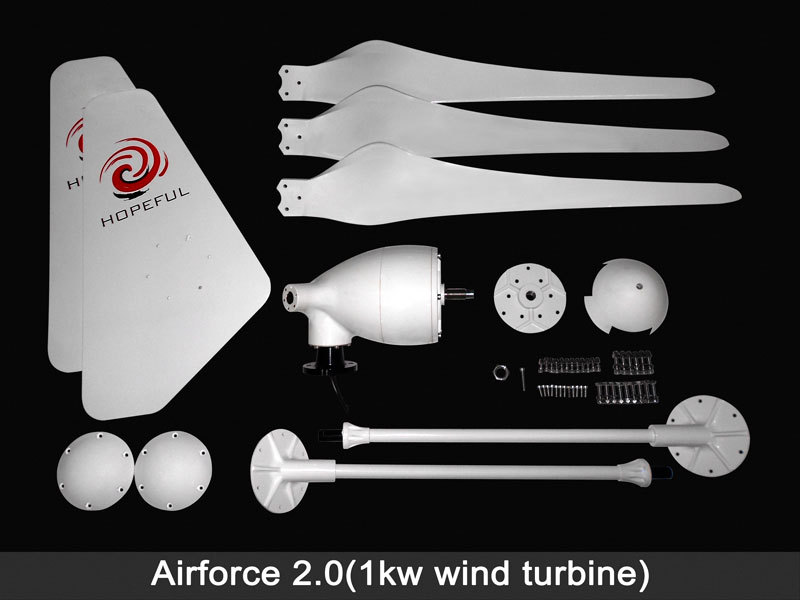 1KW residential rooftop wind generator for sale