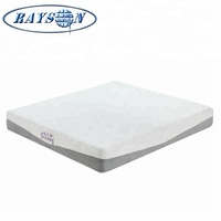 China Direct Factory Luxury Hotels Comfortable Mattress Suppliers Super Soft Top With Gel Memory Foam Rollable Up King Mattress