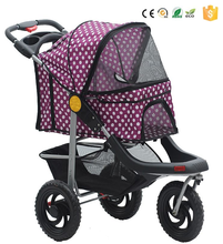 Hot sales collapsible 3 in 1 pet stroller, dog bike trailer stroller, dog stroller justpetstrollers