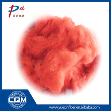 Professional production red polyester staple fiber