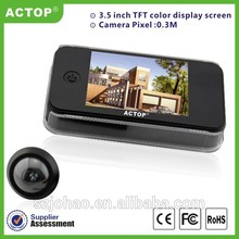 Actop Android IOS wireless peephole door wifi camera