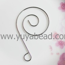 29*48mm Unique Spiral Stainless Steel S shaped ornament Hooks Hanger ceiling Decorative 800x