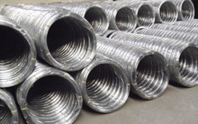 Galvanized high tensile steel oval farm fence wire