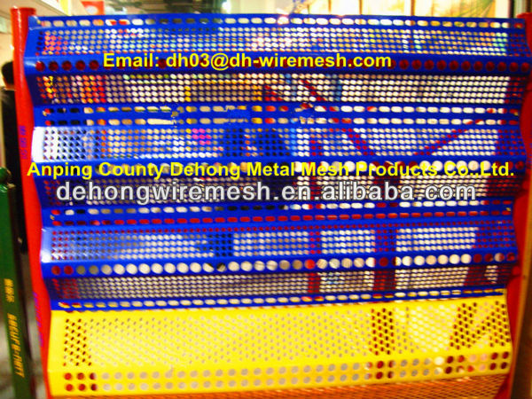 Anti Wind dust screen/gauze/mesh/construction perforated screen(China Factory&Manufacturer)