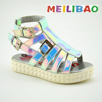 2016 low price girls latest high heel sandals for kids